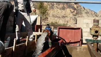 المؤسسة تنتهي من اعادة تأهيل مشروع مياه البيضاء