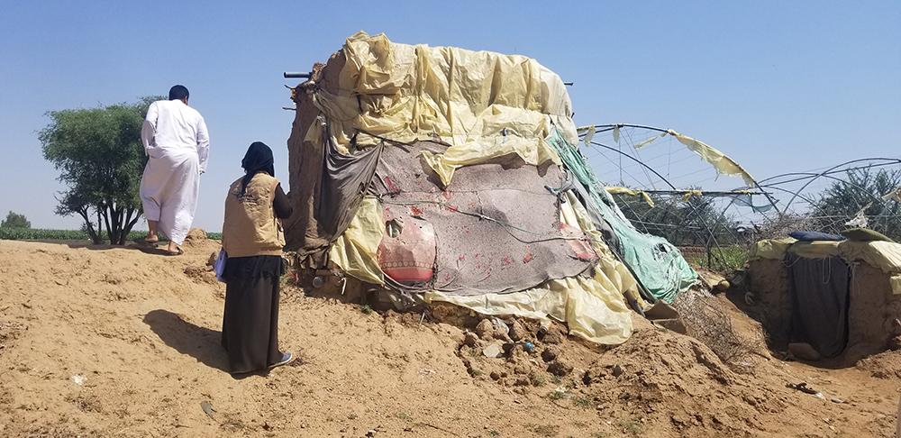 دعم إدارة المخيمات من خلال أنشطة بناء القدرات والصيانة البسيطة للنازحين في مديريتي الصفراء وسحار - محافظة صعدة