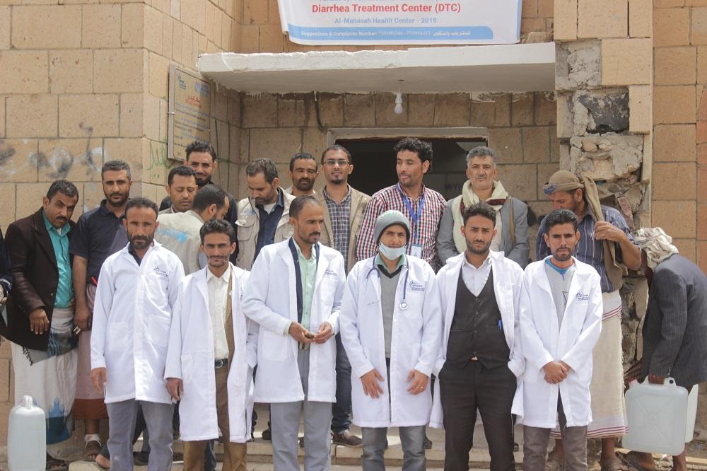 مشروع الاستجابة الطارئة لوباء الكوليرا في مديرية ولد ربيع – محافظة البيضاء