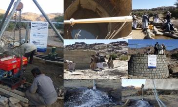 مشاريع المياه .. تنمية حقيقية ومستدامة لخدمة المجتمع