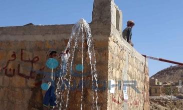 مشروع مياه الكشاور يستأنف ضخ المياه بعد 13 عاماً من التوقف