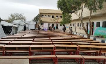 شعاع الأمل ينبثق مجدداً من مدرسة الزهراء للبنات