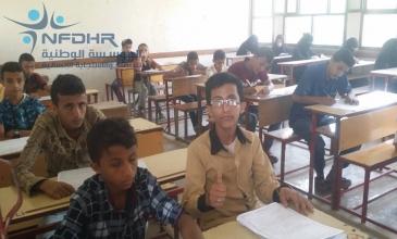 الطفل عبدالله يعود لأداء الاختبارات بعد أن كان على وشك دخول السجن.!