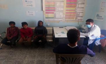 Al-Haykel Health Center resumes work after several interruptions