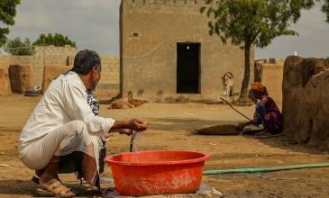 تأهيل مصدر المياه في قرية الشقيف