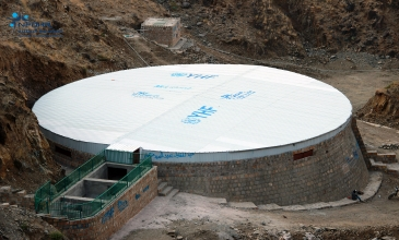 Rainwater Harvesting Tanks Nourish Hydan Hospital and Improve Medical Services