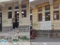 تأهيل وترميم مدارس عمران المتضررة من النزاع