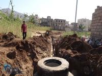 المؤسسة تحل مشكلة الصرف الصحي في مدينة الرجم وتقضي على مسببات انتشار الامراض