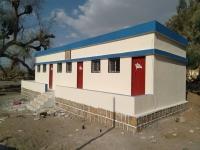 مدرسة الشيخ زاهر.. من مدرسة مدمرة كلياً الى نموذجية تستقبل طلابها من جديد